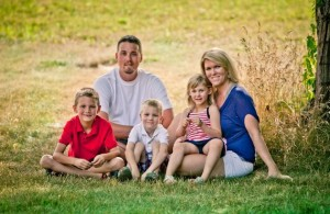 Jennie Kirby and her family