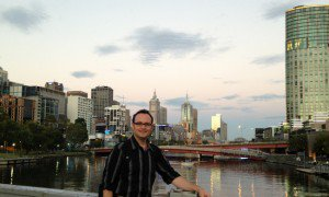 Josh Bradshaw recently relocated to Melbourne for an MBA program.