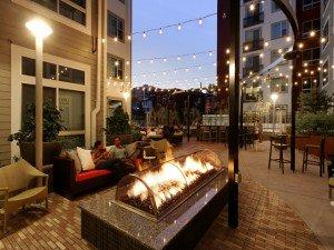 Courtyard via AVA H Street Official Website