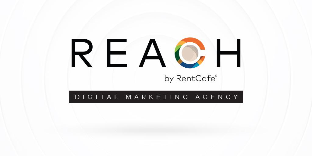 REACH by RentCafe digital marketing agency logo